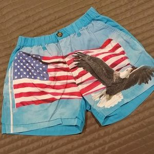 Chubbies with American Flag and Eagle